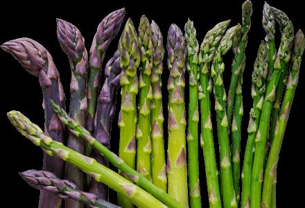 Footer asparagus